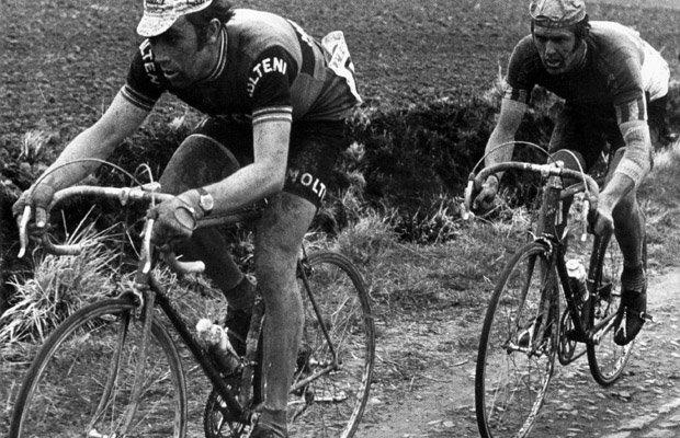 Prophet Merckx & Apostle DeVlaeminck. Source:  Velominati.com