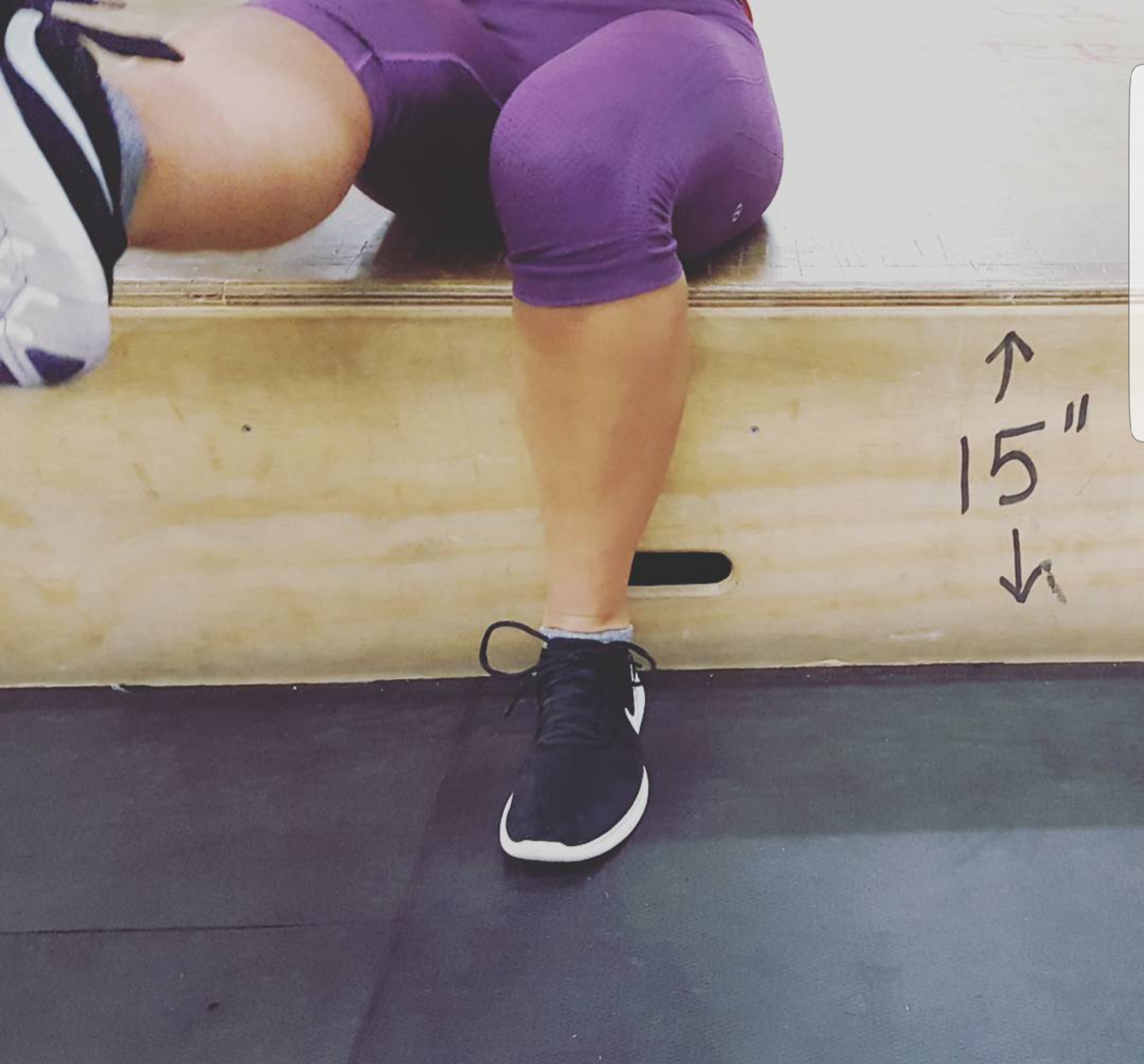 """Someone asked today, """"how deep is the squat at HQ?"""""""