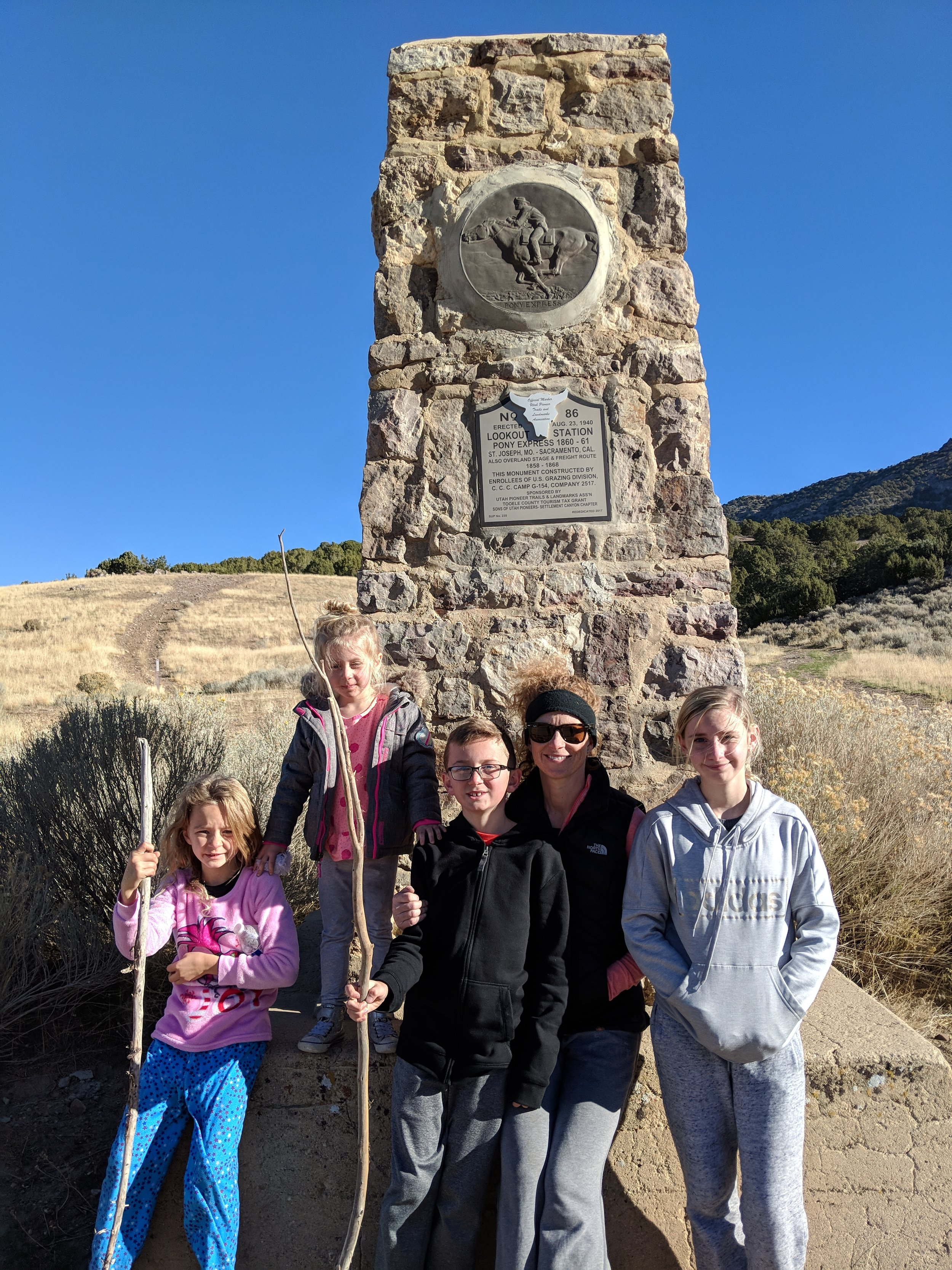 Using our fitness this UEA weekend hiking around the historic Pony Express Highway and digging for geodes in the Dugway Geode Beds. Tell us what you did this weekend. Better yet, send us a pic!