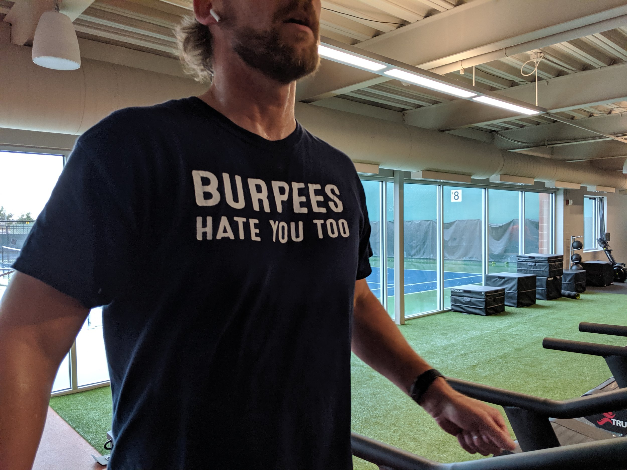 Scott knows burpees!