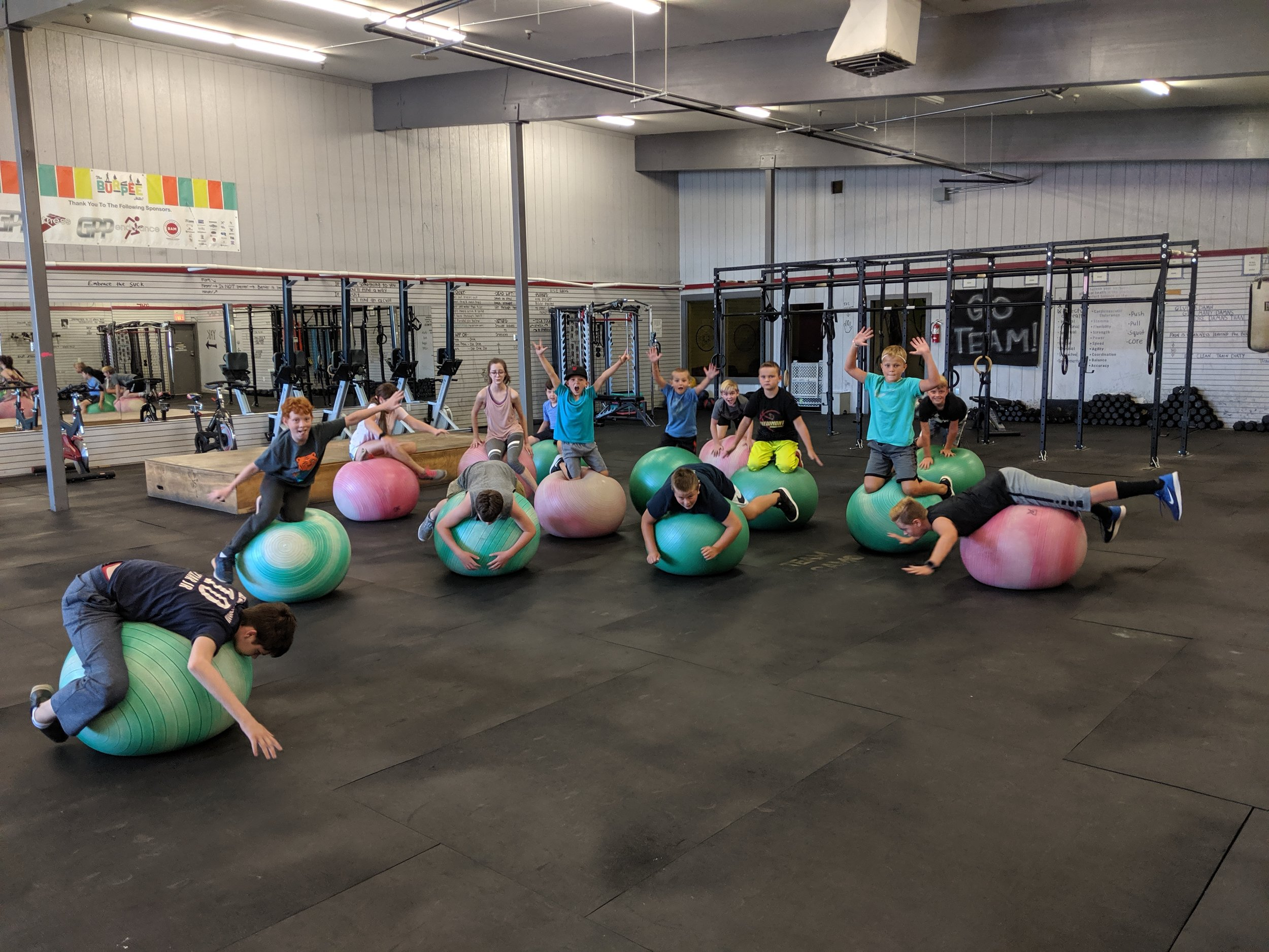 We decided to continue our Kid's Fitness Classes throughout the school year! We will hold 2 different classes after school for 2 different age groups in 6 week blocks. Same amazing price of $55.00 per kid. The next block will start August 27th!
