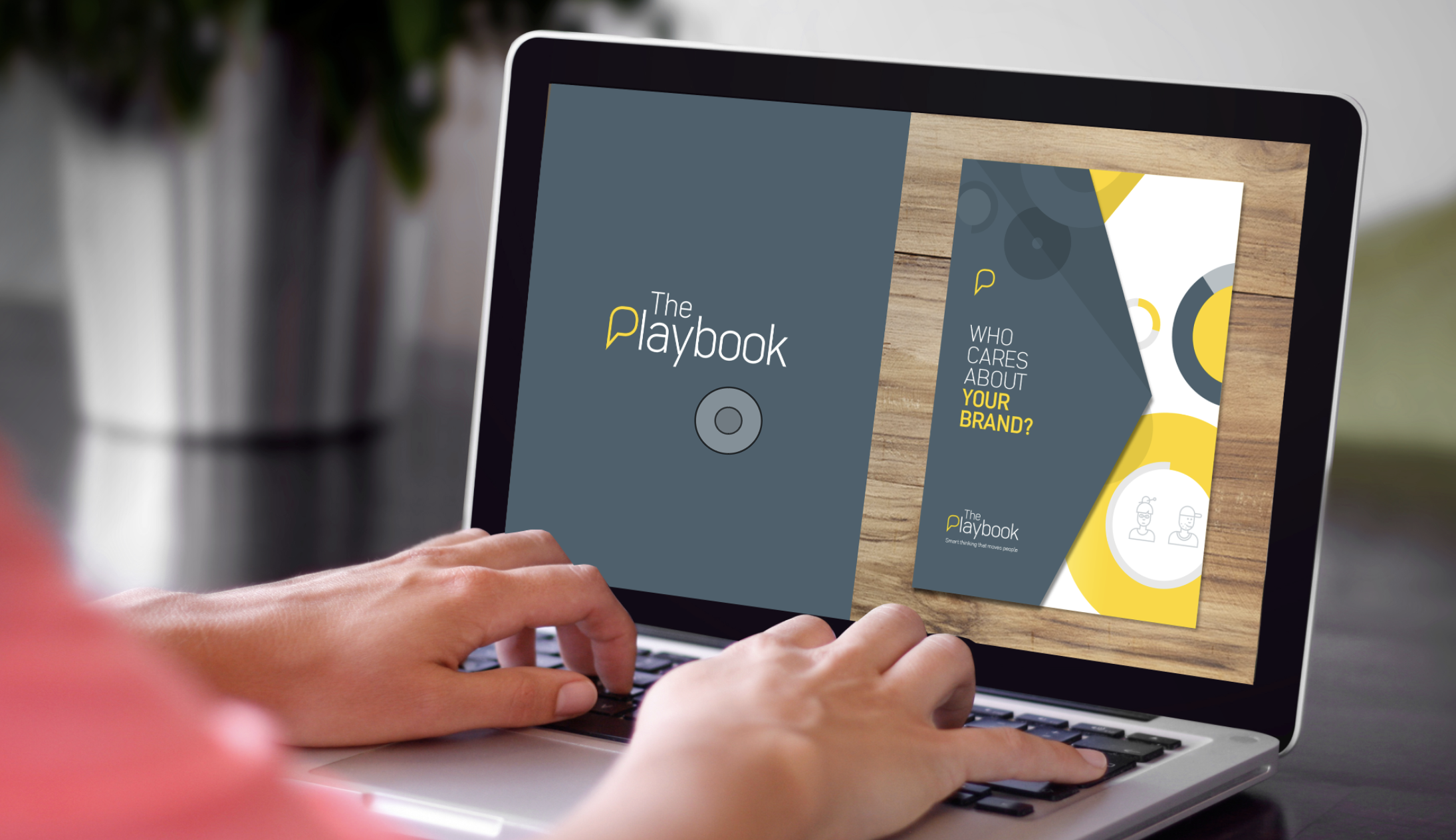 THE PLAYBOOK  Brand design • Corporate literature