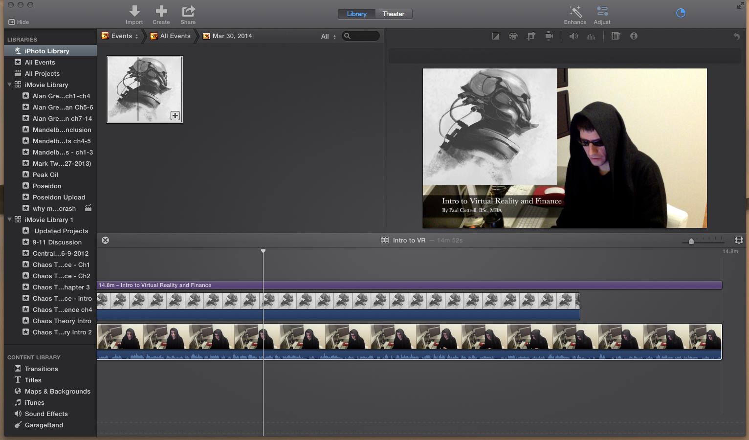 Imovie editing