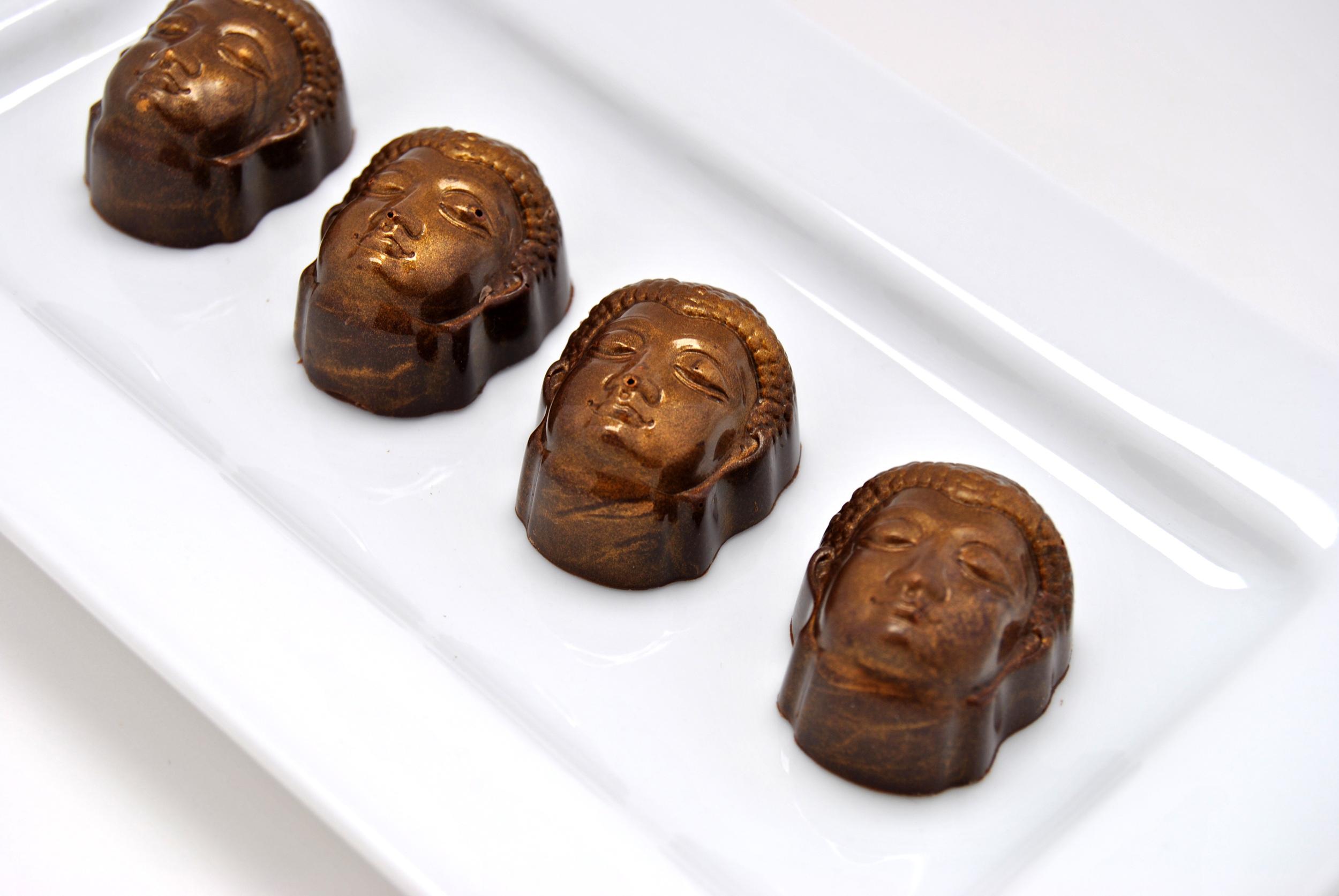 Caramel Buddha Chocolate Truffle