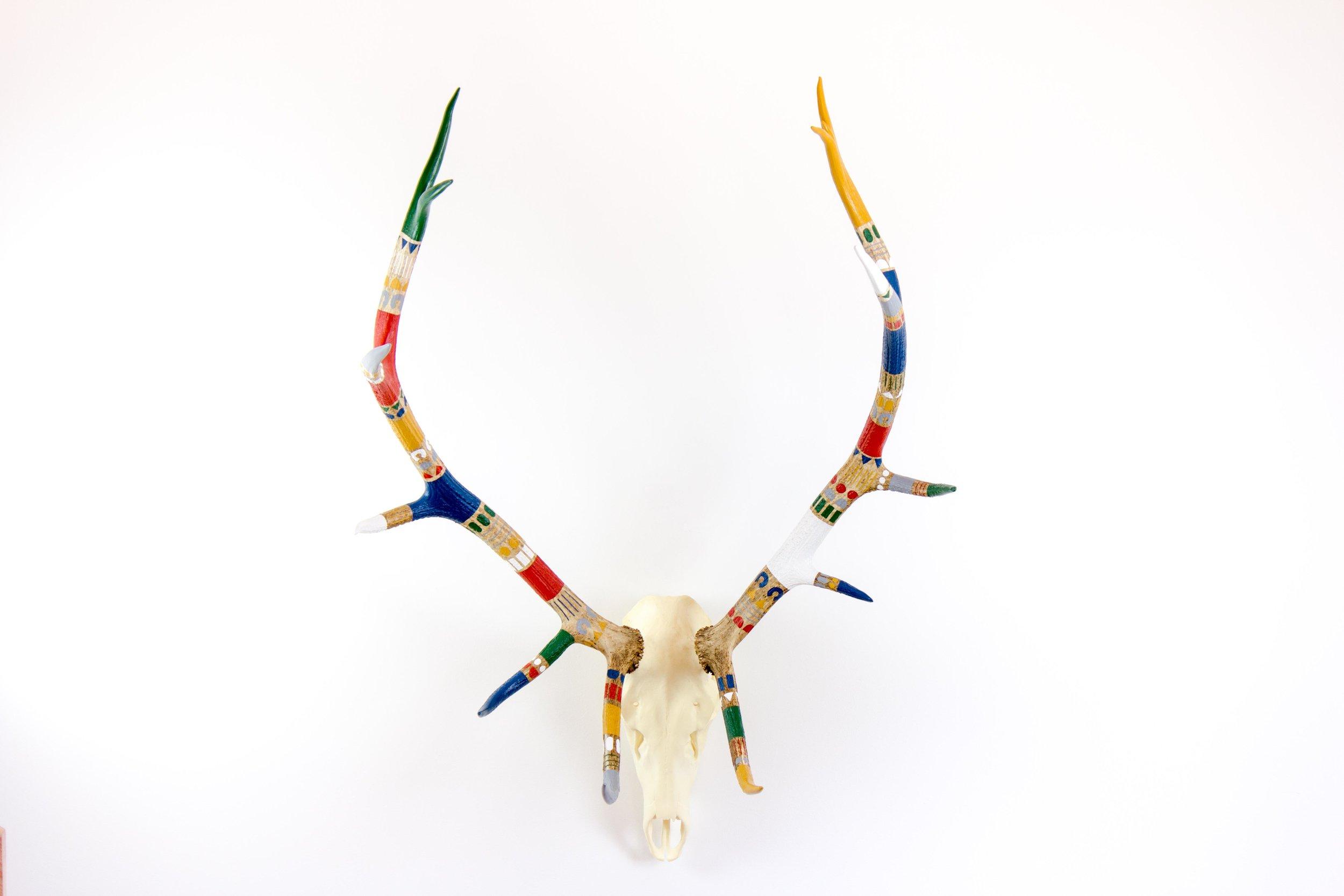 Painted Antlers - Elk 1.jpg