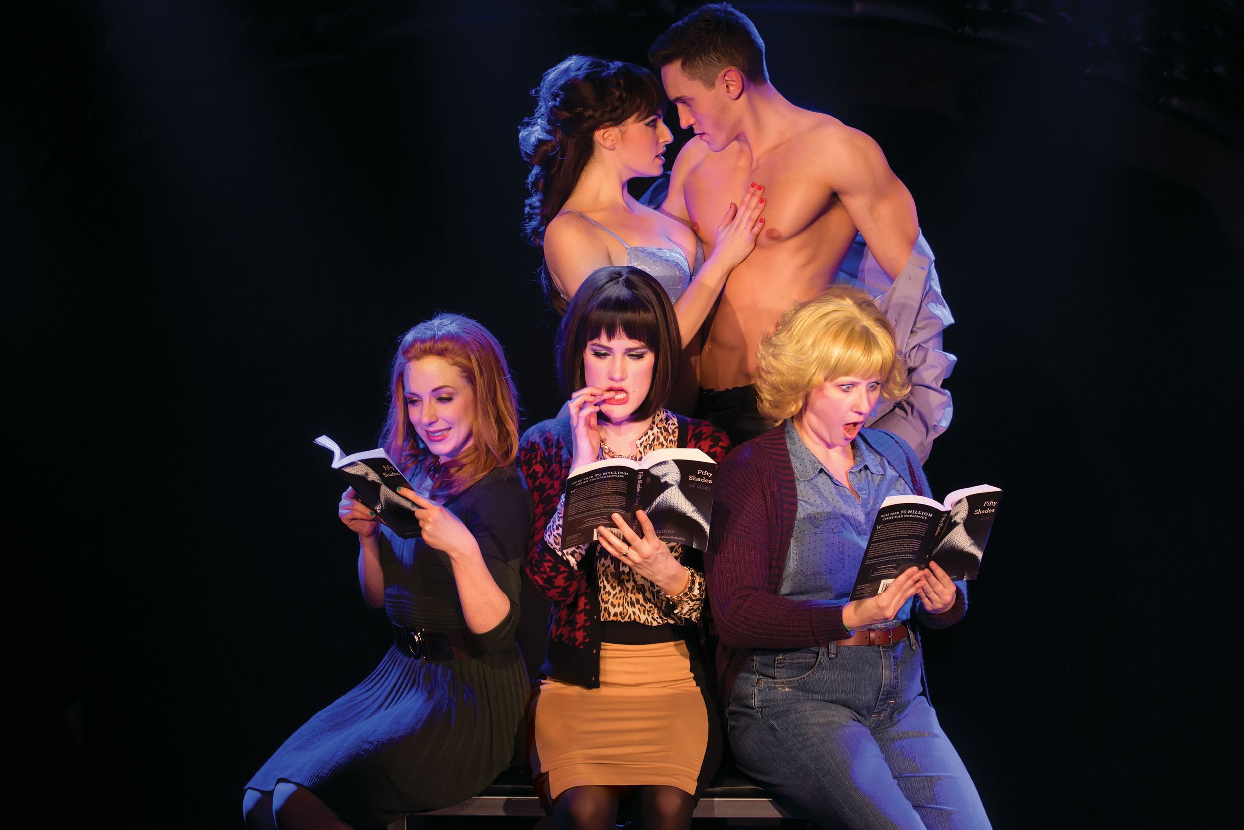 NY Cast: Casey Rogers, Alec Varcas, Kaitlyn Frotton, Chloe Williamson and Ashley Ward. Photo by Matthew Murphy