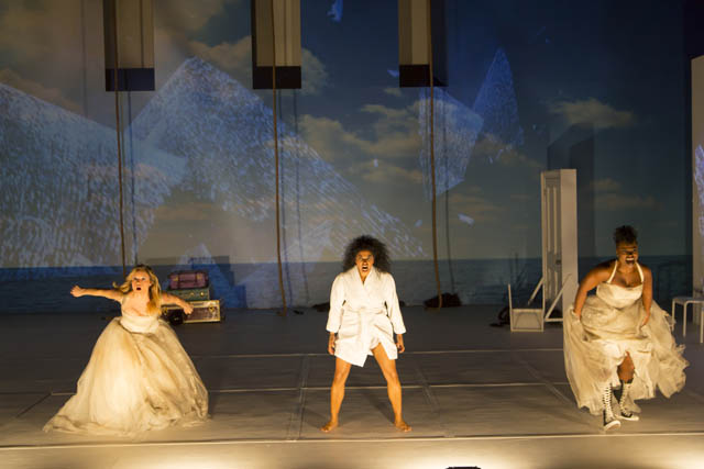 Libby Winters, Rebecca Naomi Jones and Stacey Sargeant. Photo by T Charles Erickson.