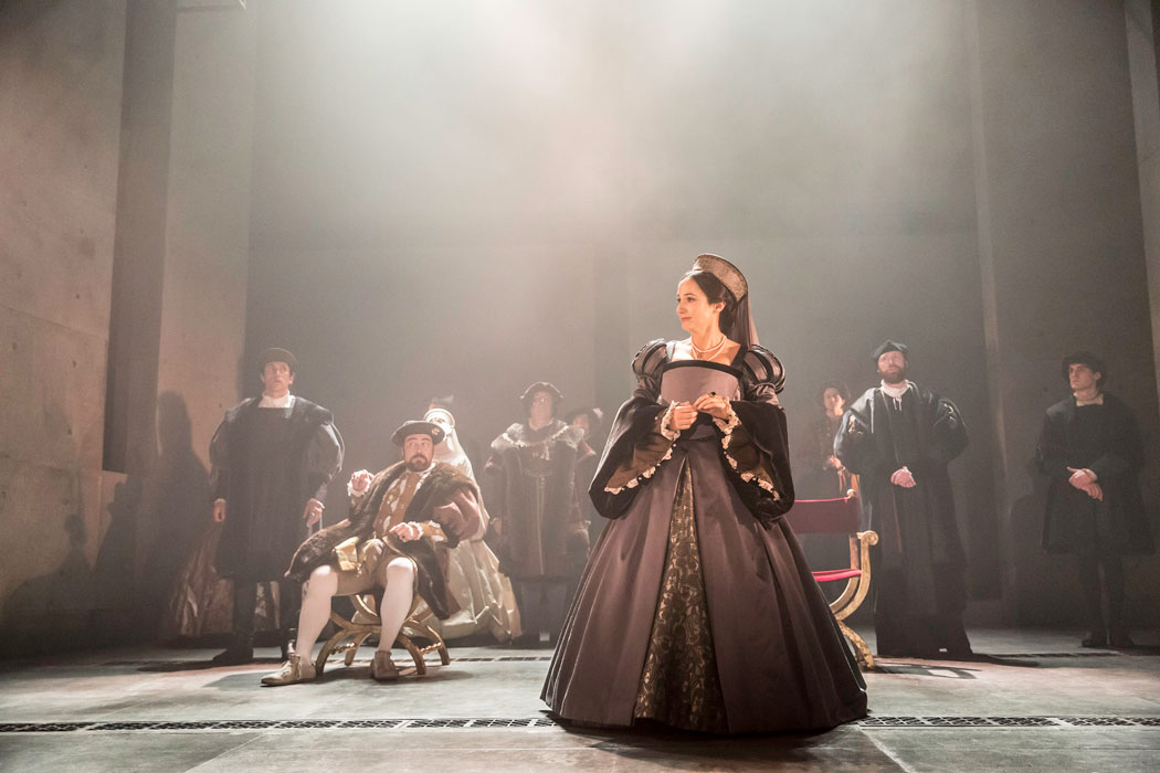 Lydia Leonard in  Wolf Hall .  Photo byJohan Persson