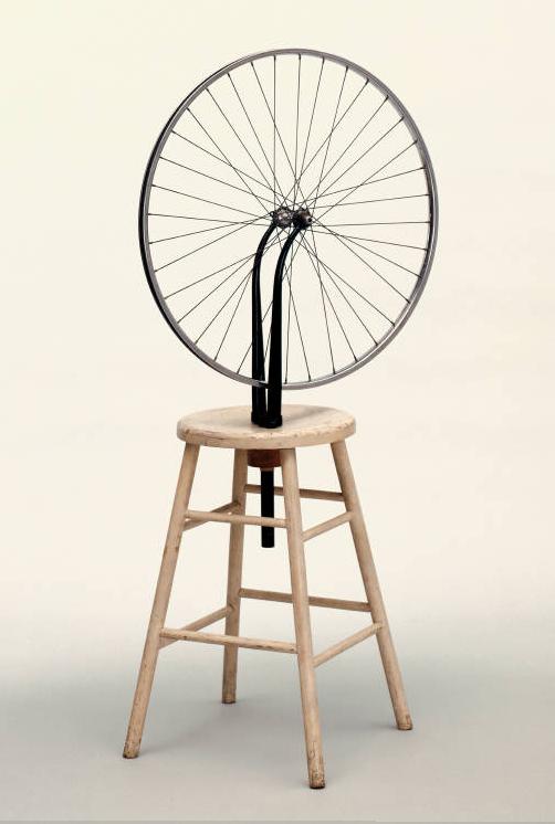 "Duchamp's ""Bicycle Wheel"""