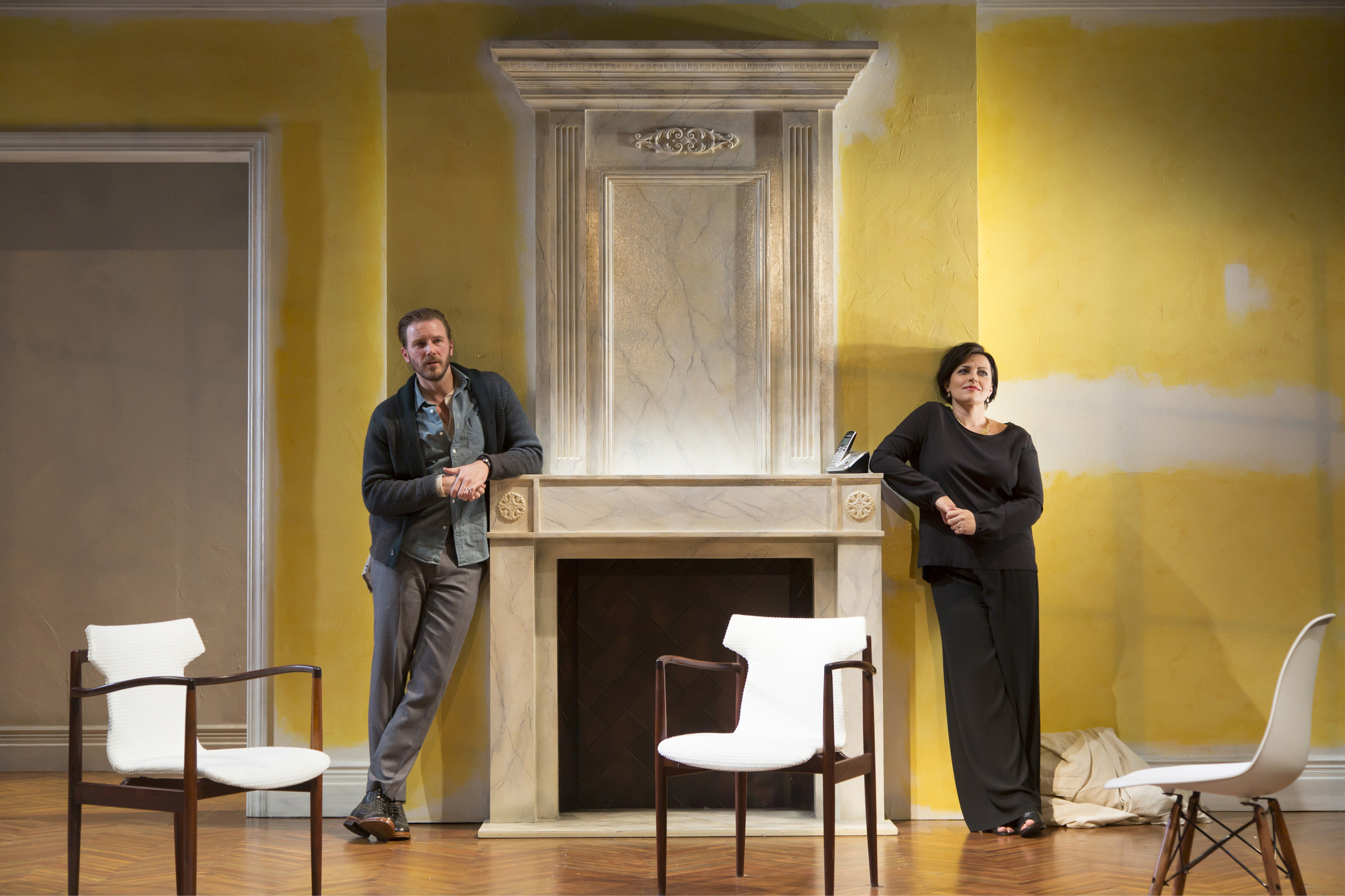 Photo of the Signature Theatre production of  Night is a Room . Photo by T. Charles Erickson
