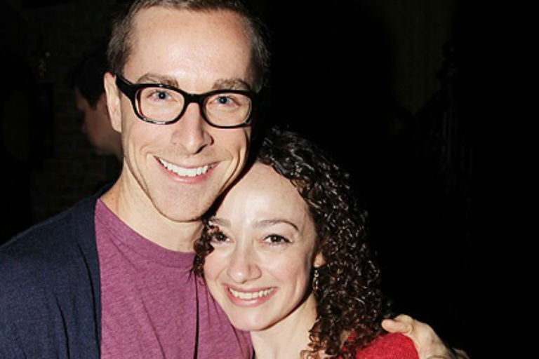 Adam Halpin and Megan McGinnis