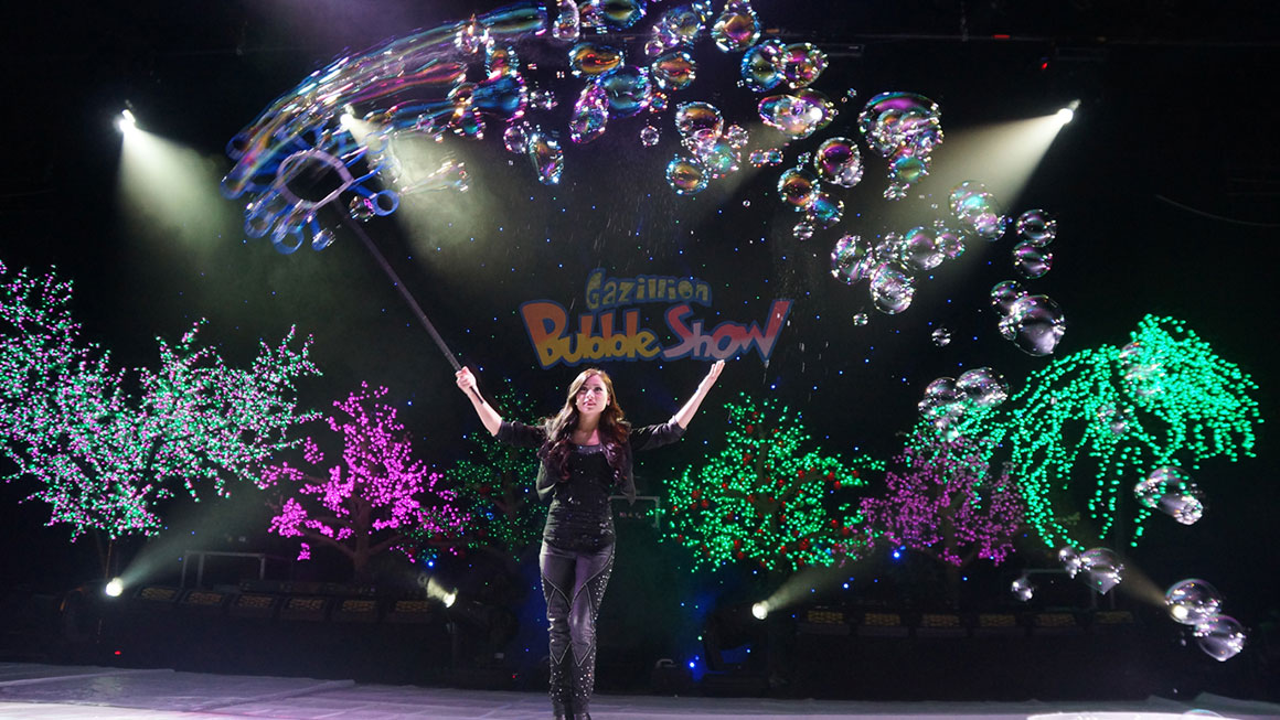 gazillion bubble show discount tickets, new world stages, off broadway tickets