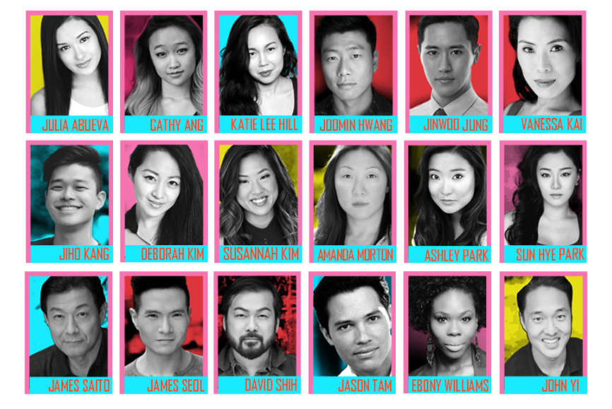 The diverse and talented cast of KPOP.