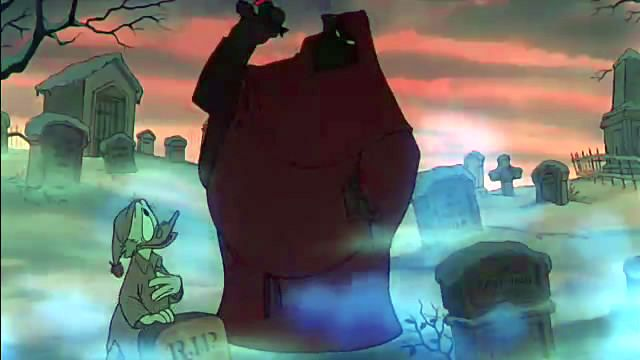 This is the Disney version, but as a kid, this was uber scary. Okay, maybe it still is...