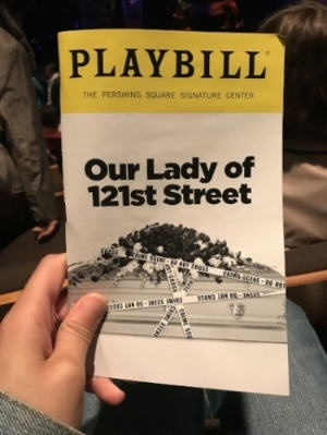 - Three years. It has been three years since I last took my mother to a non-Broadway show. And that has everything to do with the fact that she tends to fall asleep during anything that doesn't have alot of singing, bright lights and elaborate dance numbers.