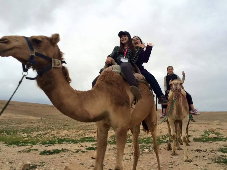 Riding a camel. Lucky #13!