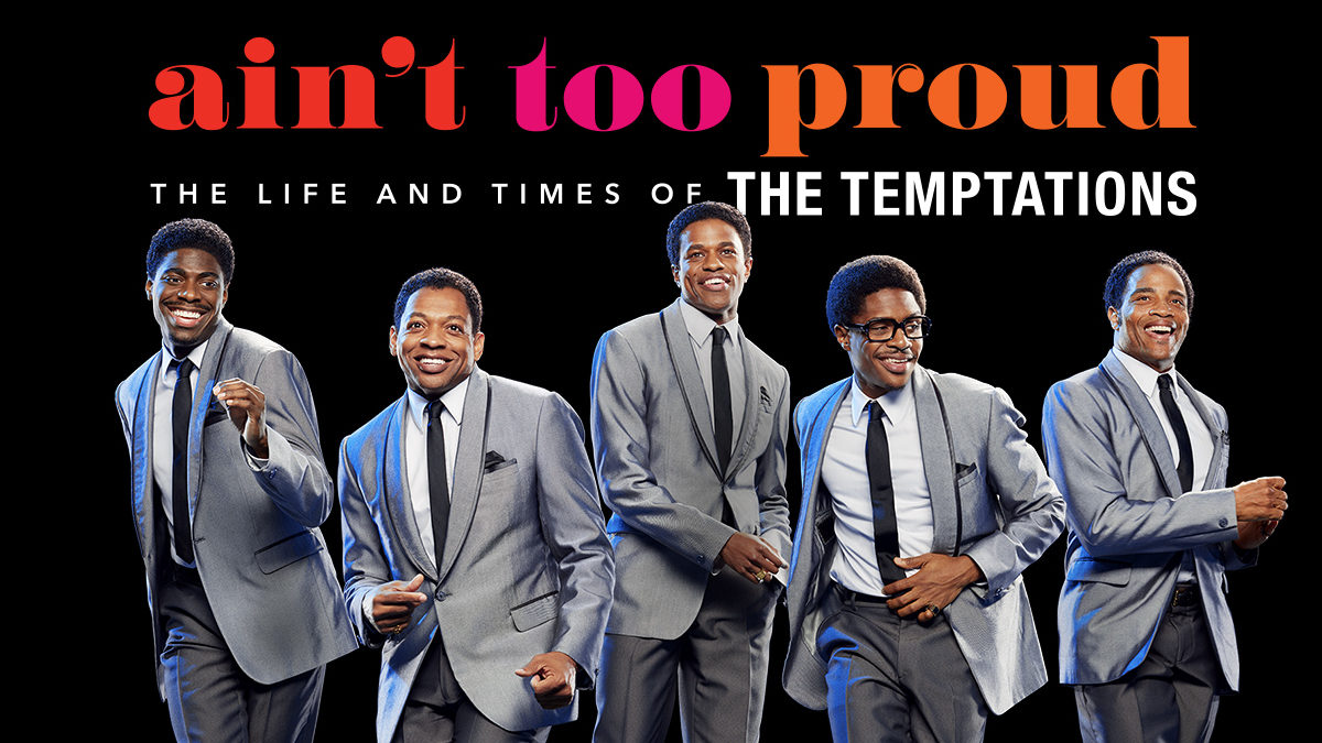 ain't too proud musical, ain't too proud discount, temptations musical