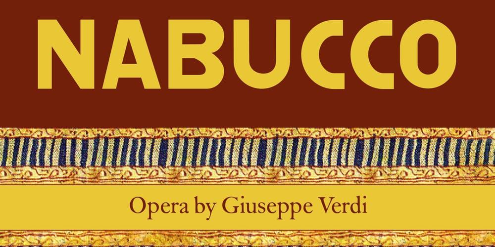nabucco opera, nabucco center for jewish history, nabucco verdi discount