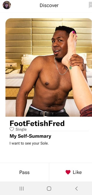 One of the 38 fake dating profiles