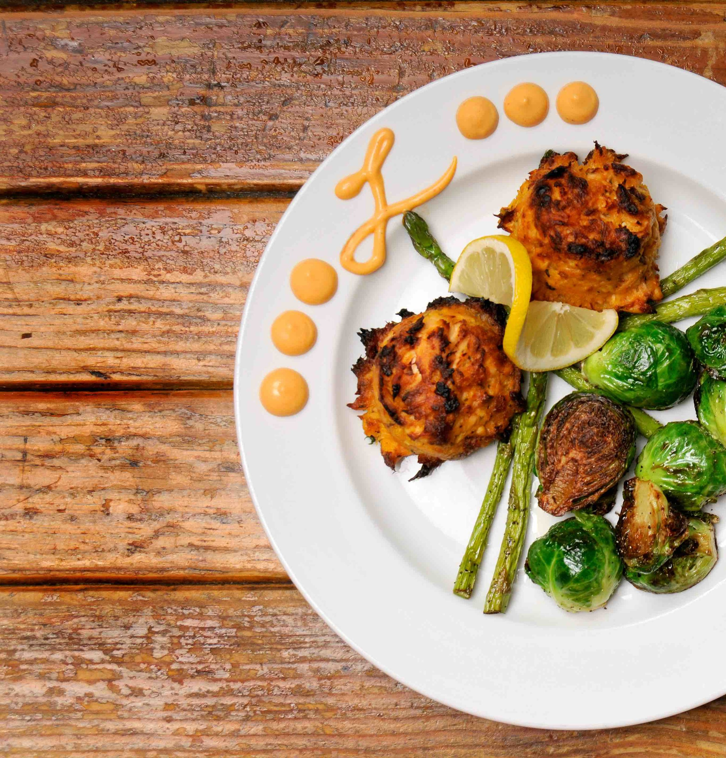 Broiled Salmon Cakes