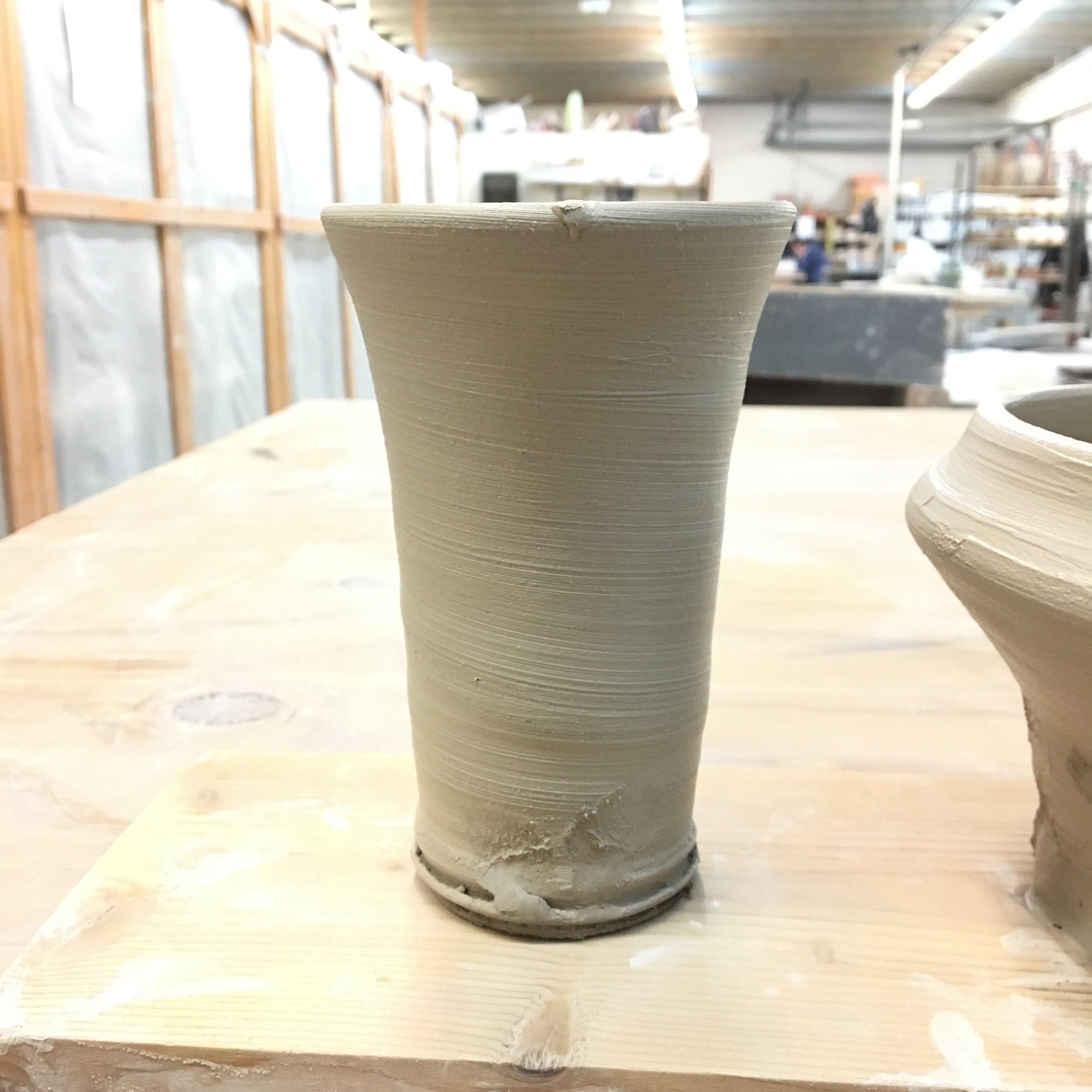 27 Crimp Vase