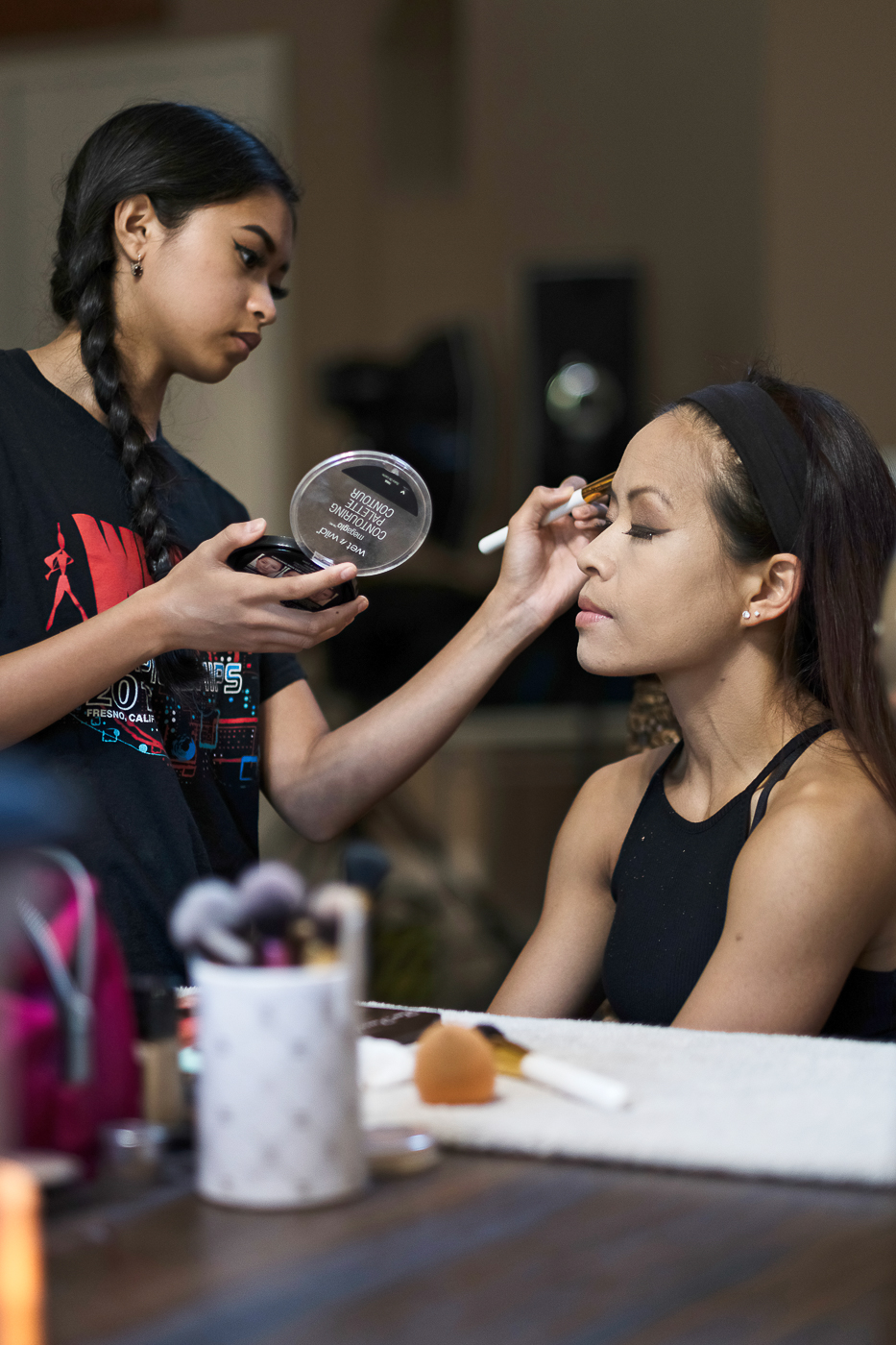 - Discipline can be utilized in multiple facets beyond fitness and health. It can be used when one prepares the makeup for a client...Makeup by Gabrielle Villaverde