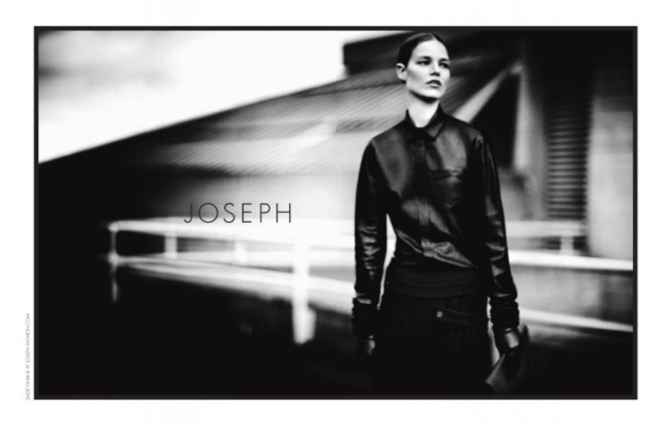 JOSEPH 13/14 Campaign shot by Boo George