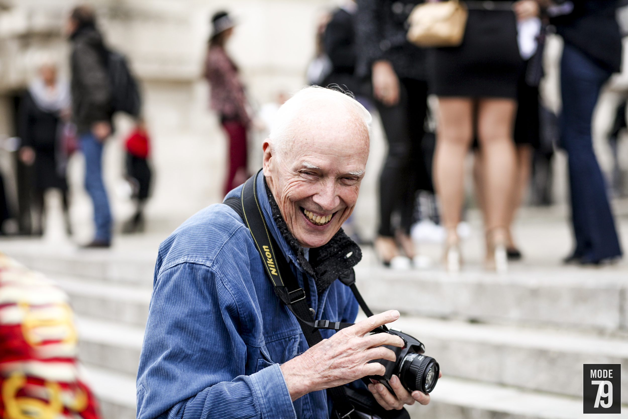 """You see, if you don't take money they can't tell you what to do, that's the key to the whole thing."" - Bill Cunningham."