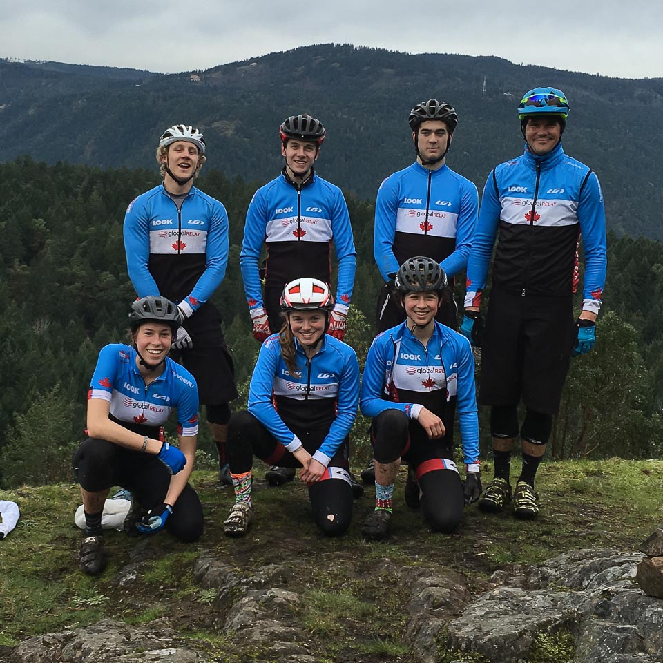 Canadian Junior National Mountain Bike Team
