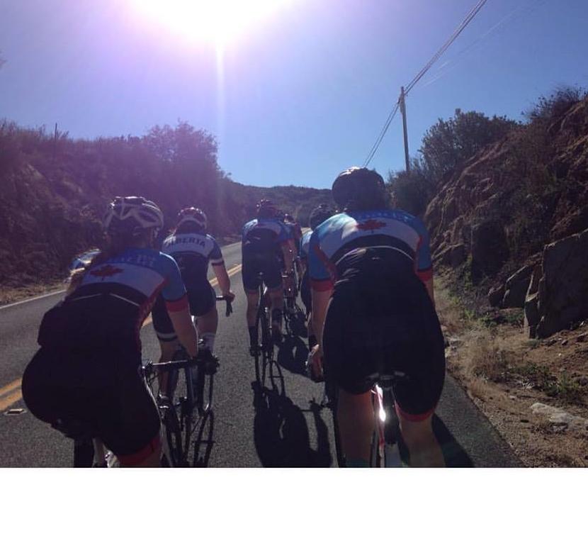 Many, many miles with great teammates.