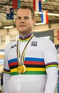 Ross Wilson - double gold!