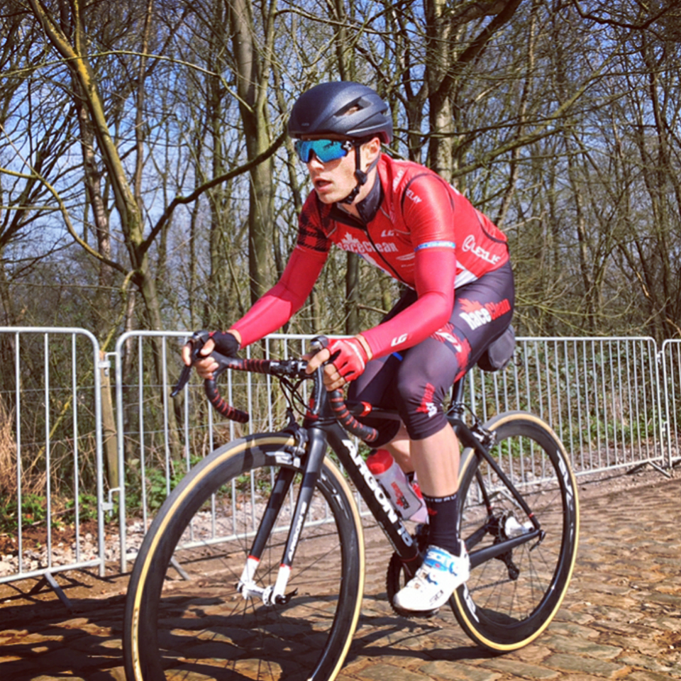 Training on the cobbles