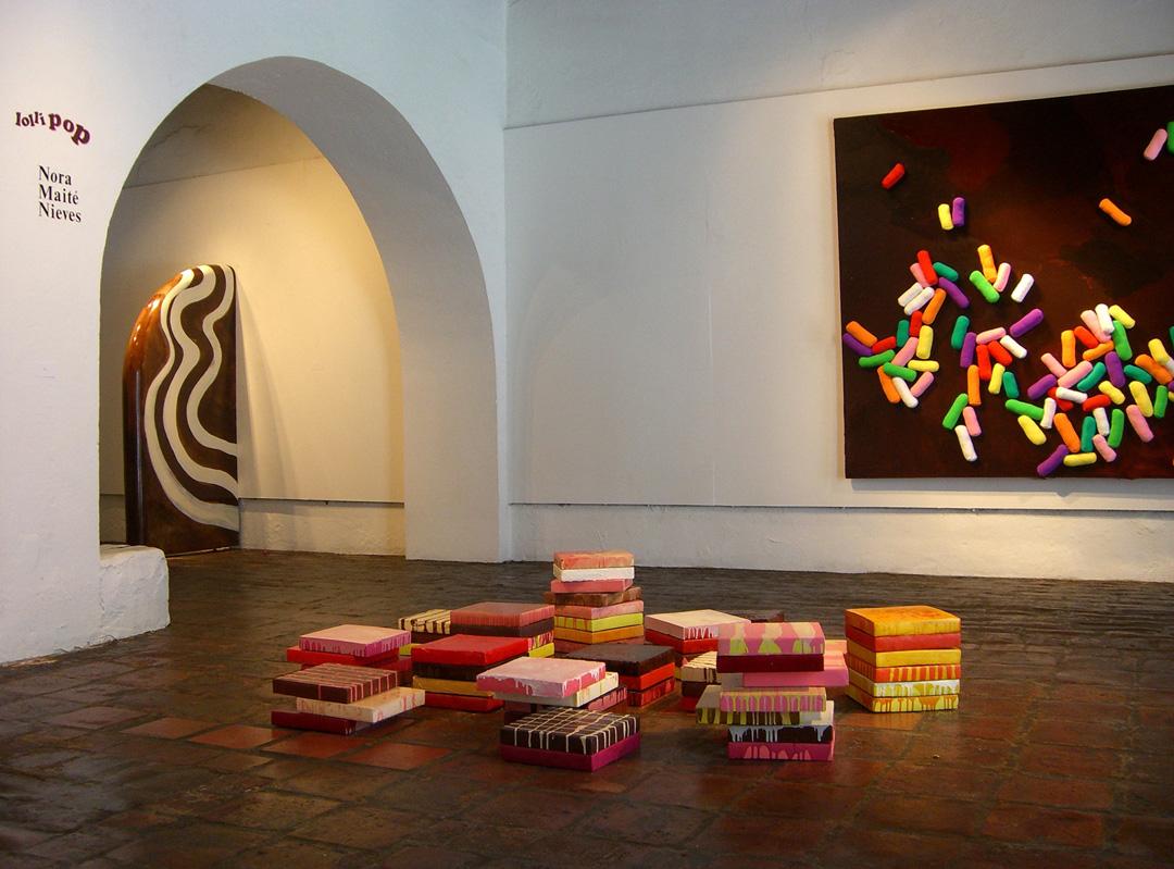 Lollipop, installation view, 2007
