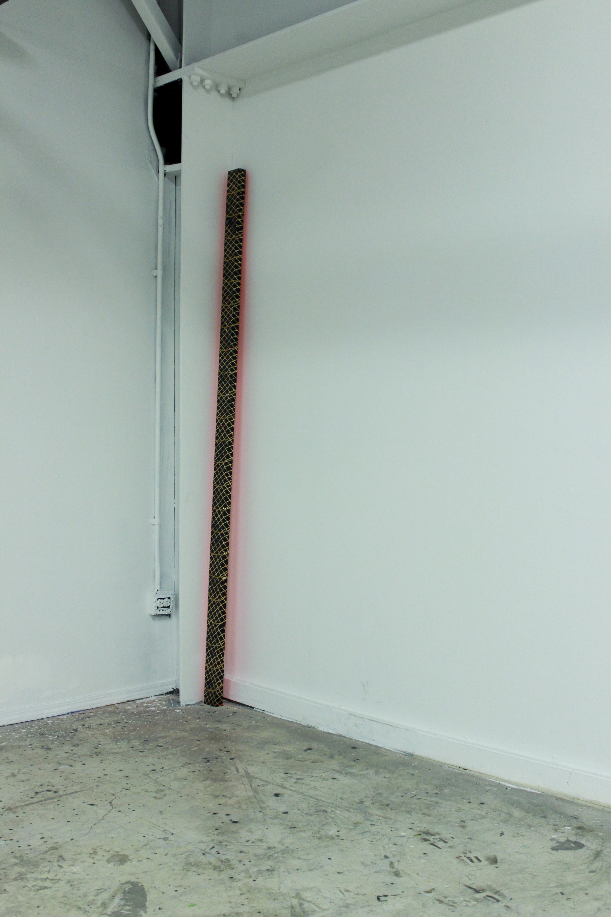 Black Wall Frame, detail, 2014