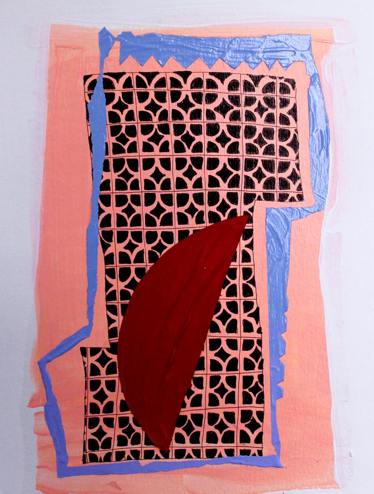 Untitled (Half Heart), 2014