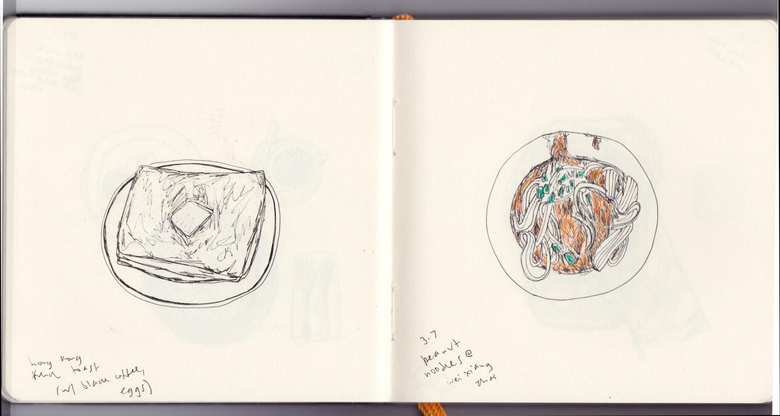 Sketchbook, China