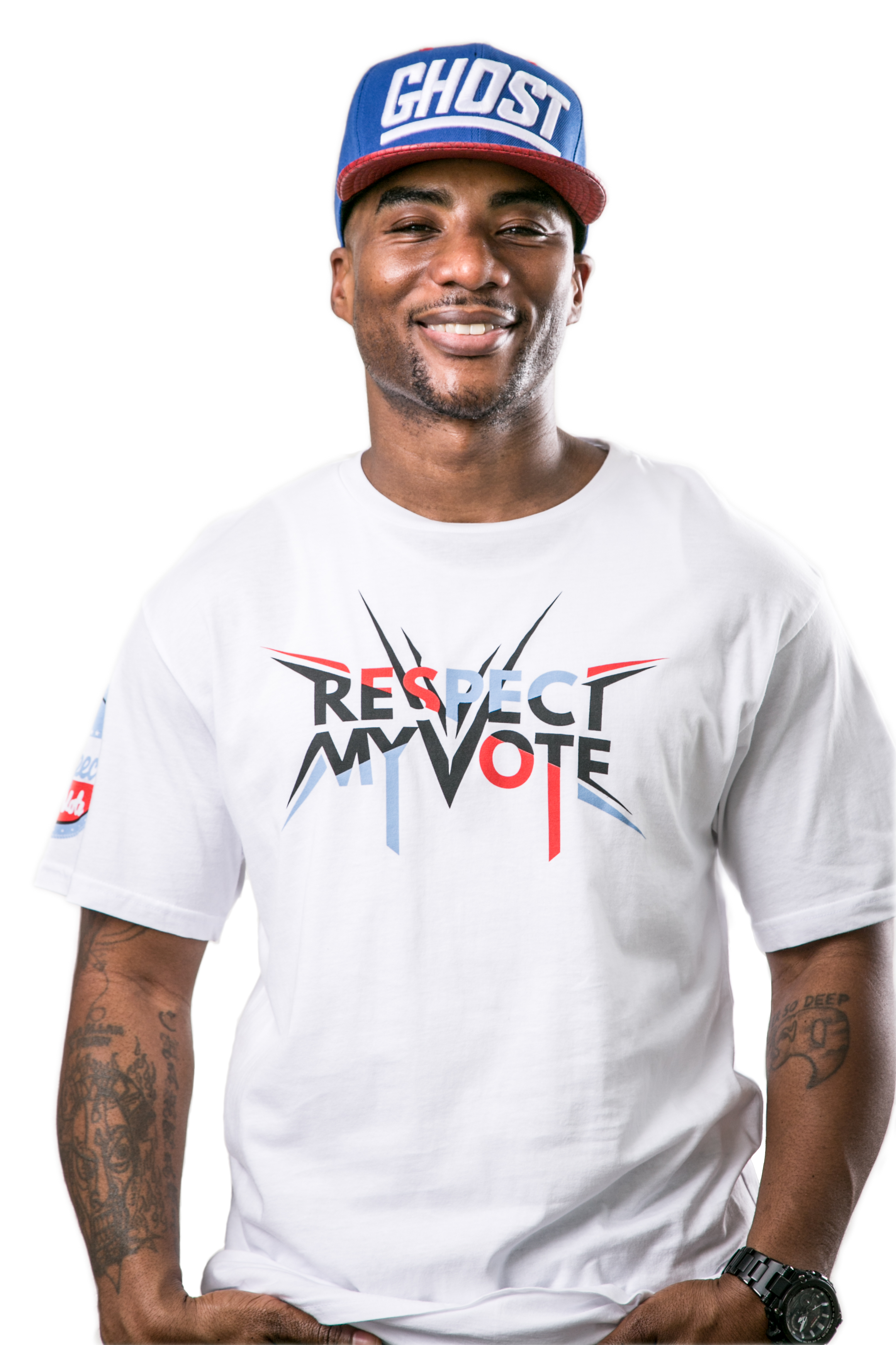 www. RespectMyVote.org Charlamagne the God & Rev. Lennox Yearwood Photography by: Shana Schnur Photography,LLC