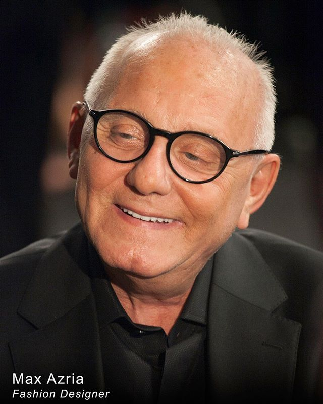 So sad. He was an amazing and talented designer and very nice person! Always smiled for my camera.  You will be missed, Max Azria. 📸@shanaschnur  NYFW  #nyfw #herveleger #bcbg #MaxAzria #nycphotographer #shanaschnur #shanaschnurphotography #fashiondesigners