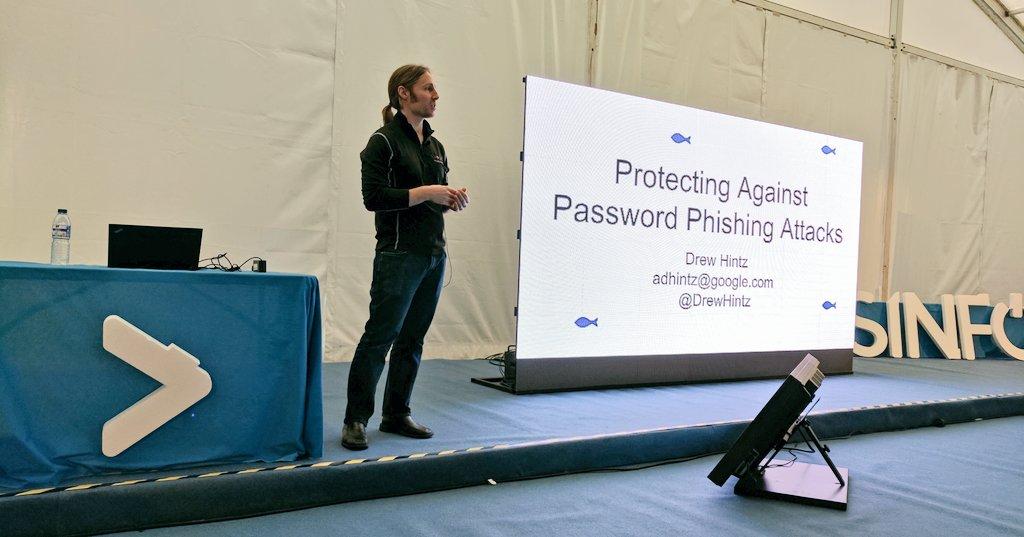 @DrewHintz , Security Engineer at Google