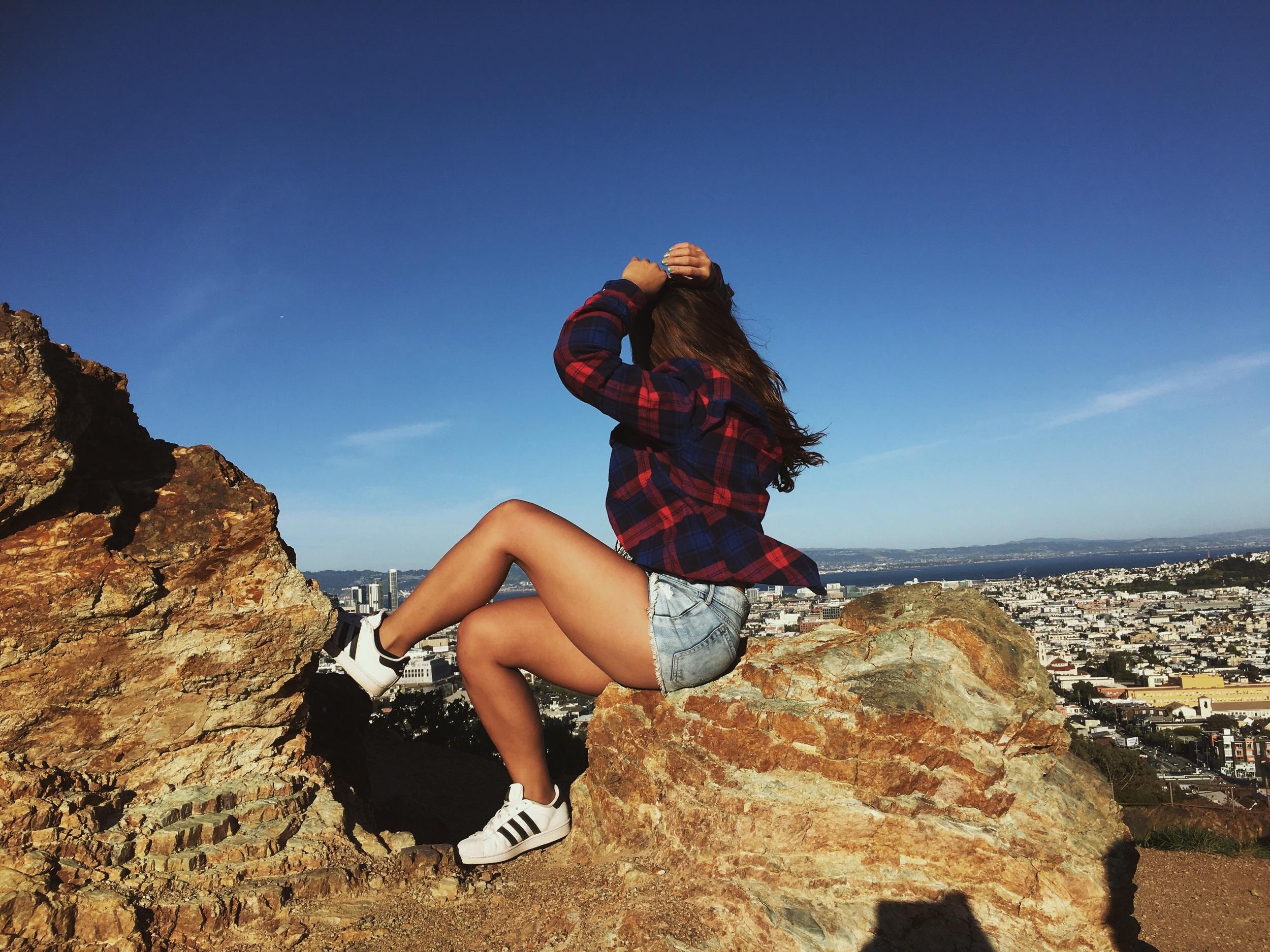 Model: Brianna Abalos  Photographed by: Andrew Krigsman  Location: San Francisco, CA