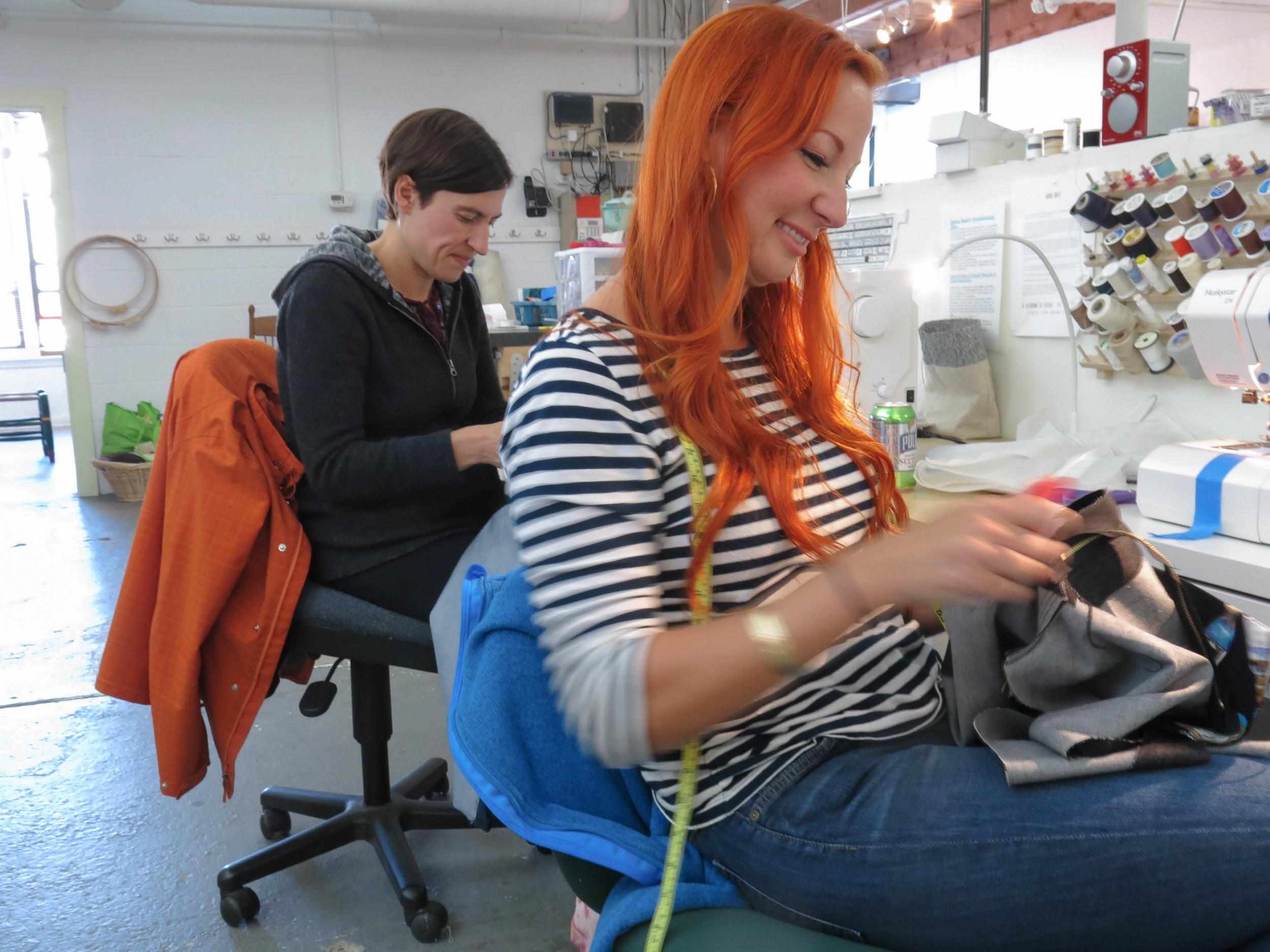 Michele, Erika at machines (1 of 1).jpg