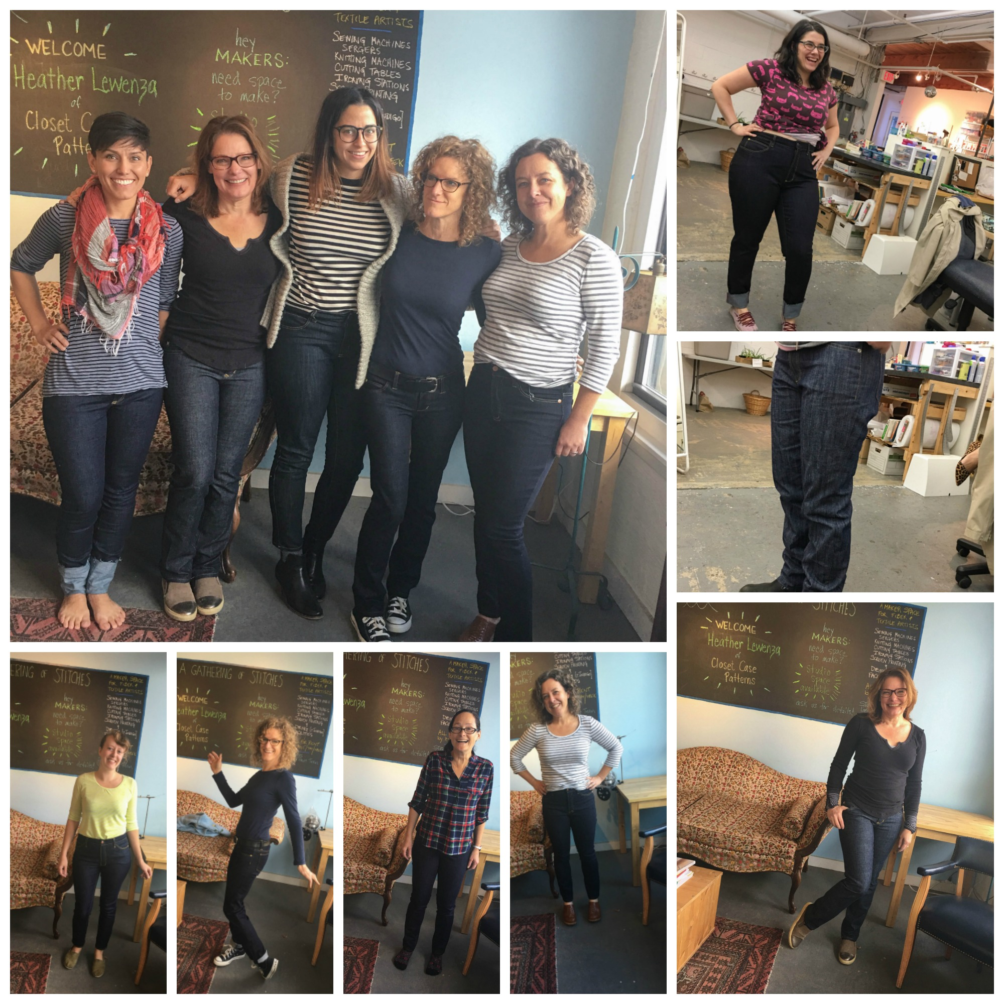 The Jeans workshop with Heather Lewenza