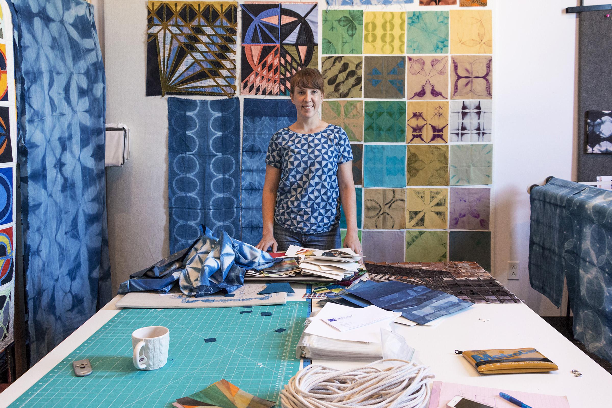 Kim Eichler-Messmer, Slow Stitching