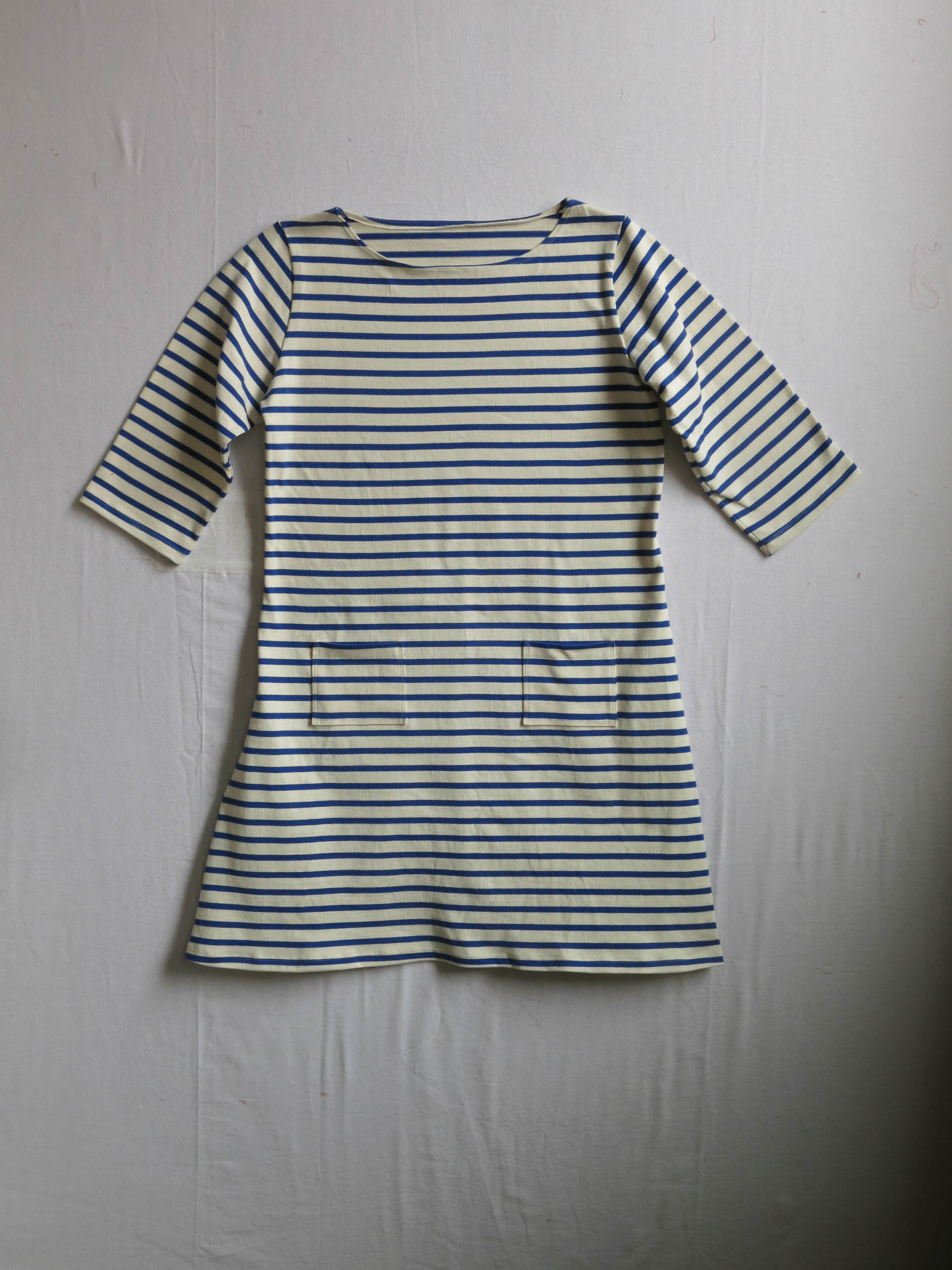 A Coco dress, pattern by Tilly and the Buttons, in heavy-weight cotton jersey bought at Mood Fabrics last Fall.