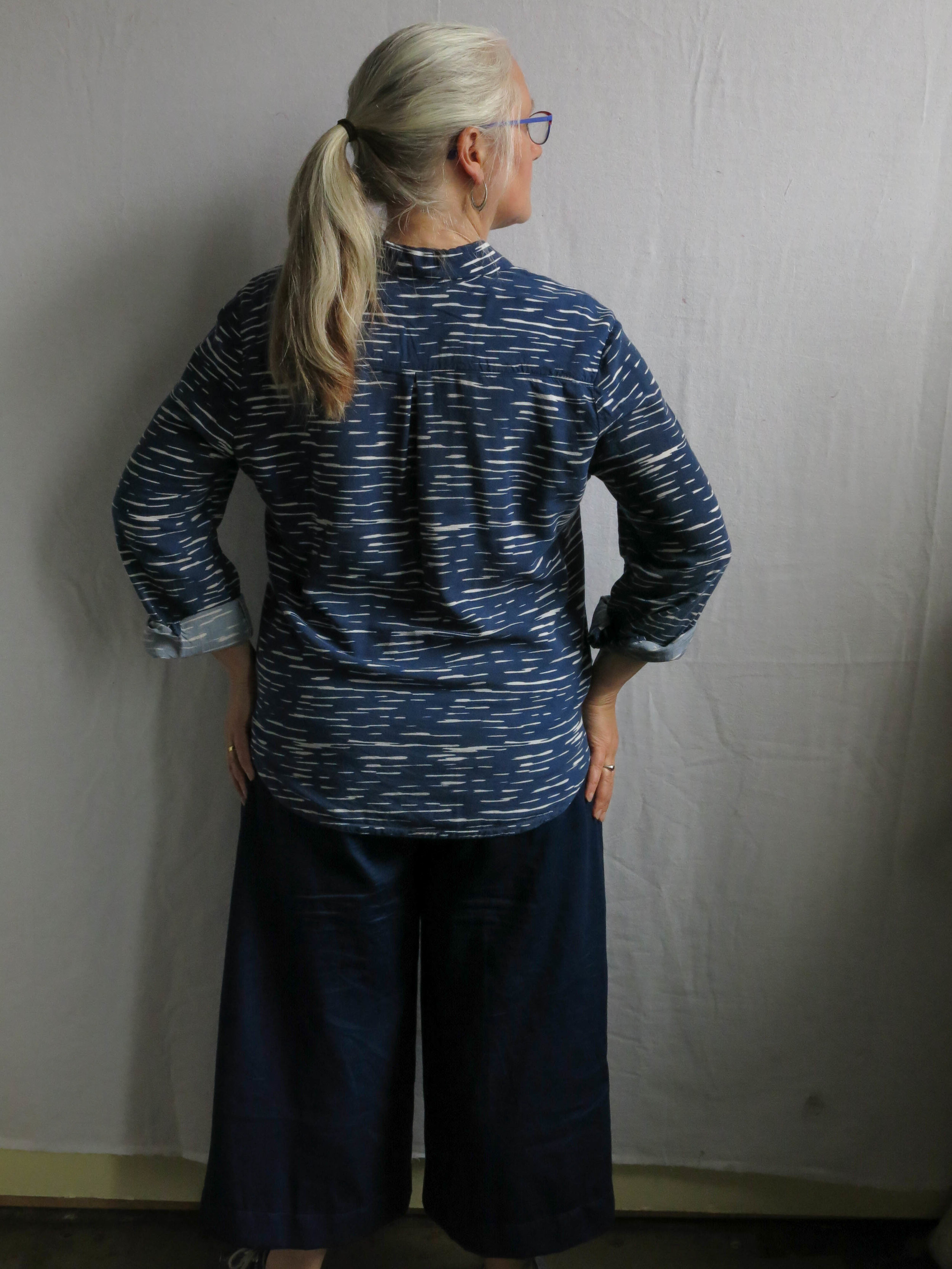 An Archer on top in rayon from Imagine Gnats. Perfect example of a top I pull out all the time.