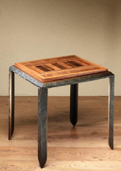 quartz end table