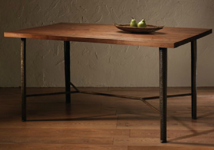 meadow river dining table