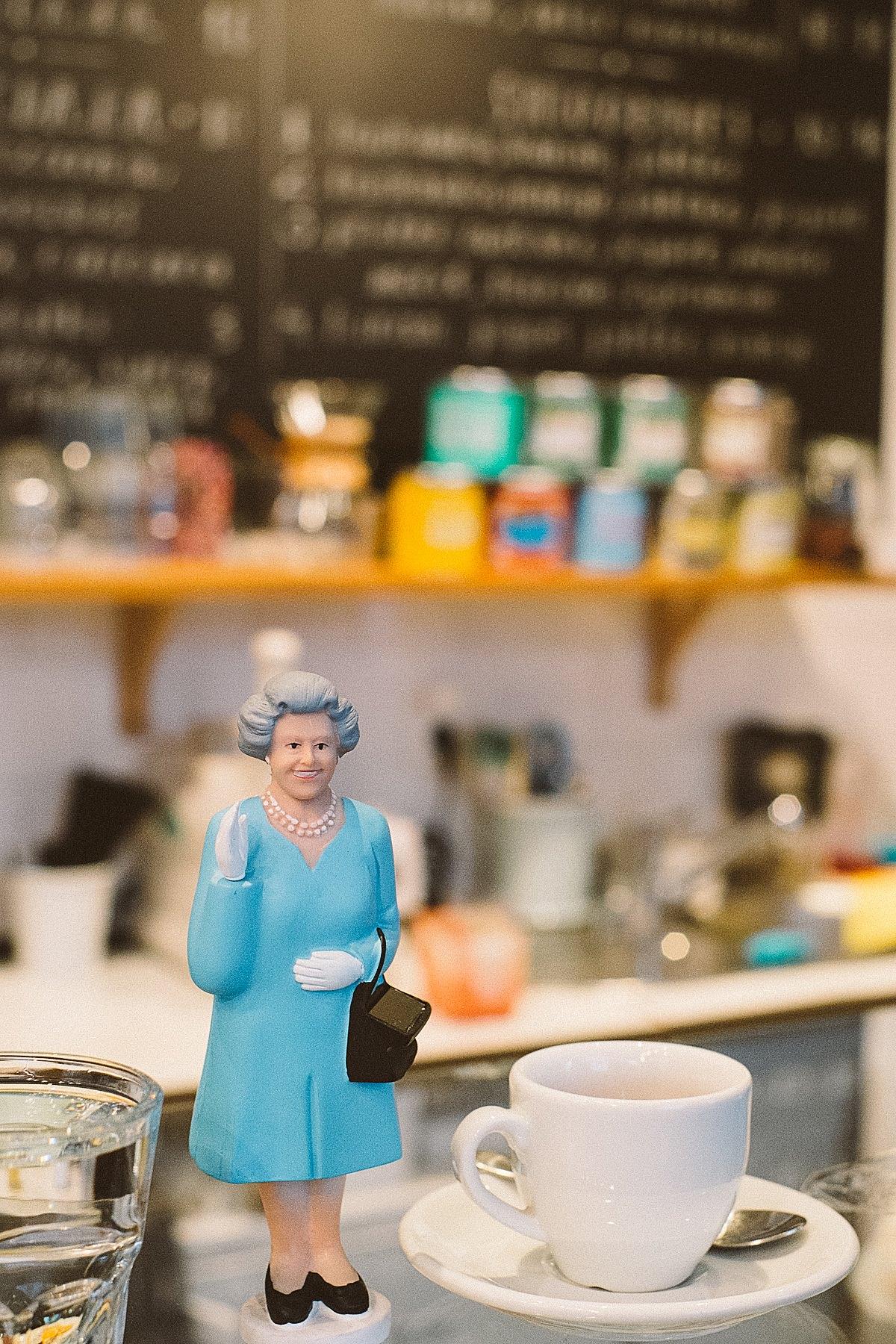 Espresso z królową ;)