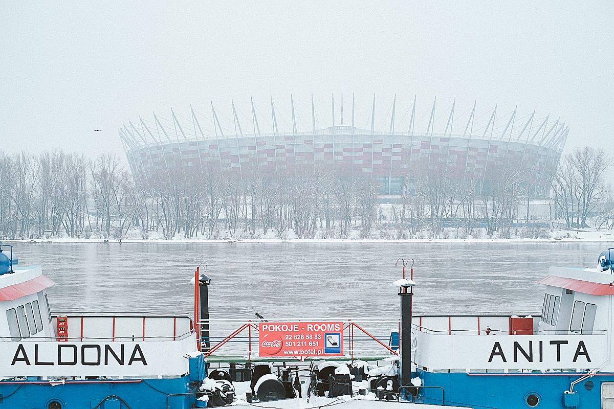 Wybrzeże Kościuszkowskie, Warszawa.