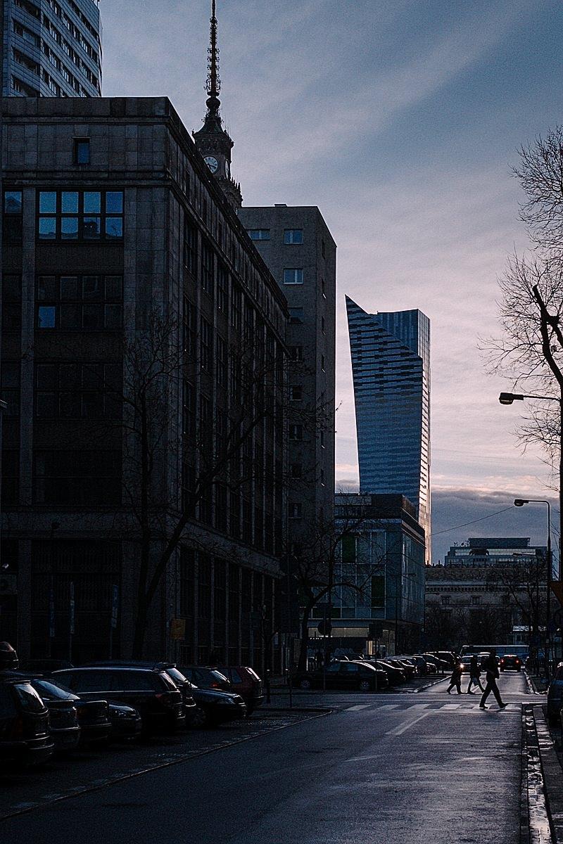 ul. Sienkiewicza, Warszawa.